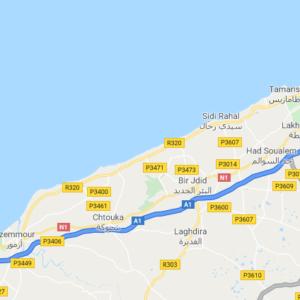 Traslado Aeropuerto de Casablanca a El Jadida