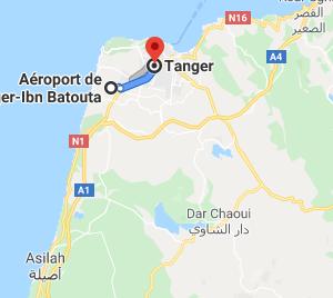 Traslado Aeropuerto Tánger a hotel