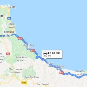 Traslado Puerto Tánger Ville a Alhucemas