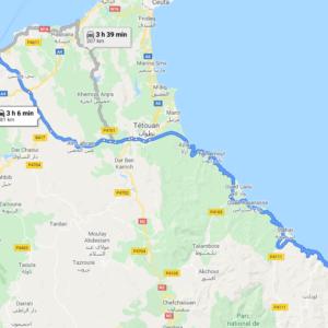 Traslado Puerto Tánger Ville a El Jebha