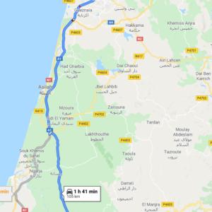 Traslado Puerto Tánger Ville a Ksar El-Kébir