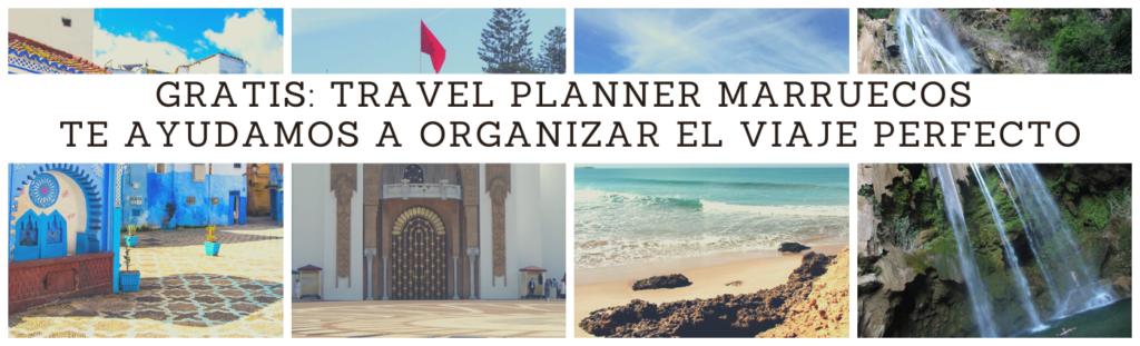 travel planner marruecos