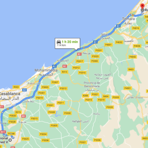 Traslado Aeropuerto de Casablanca a Rabat
