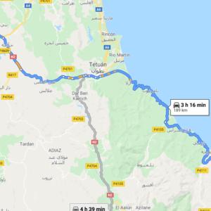 Traslado Aeropuerto Tánger a El Jebha