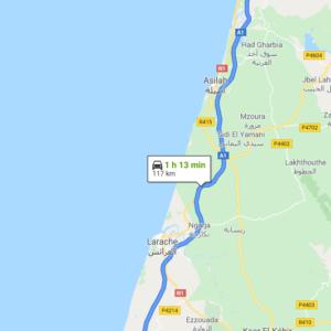 Traslado Aeropuerto Tánger a Moulay Bousselham