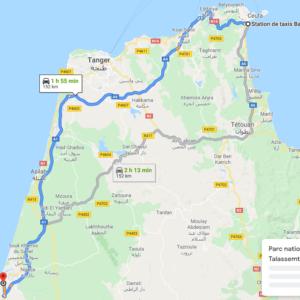 Traslado Ceuta a Larache