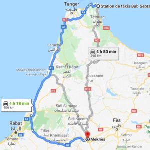Traslado Ceuta a Meknes