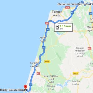 Traslado Ceuta a Moulay Bousselham