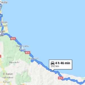 Traslado Puerto Tánger Med a Alhucemas
