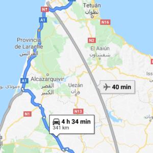 Traslado Puerto Tánger Med a Fez