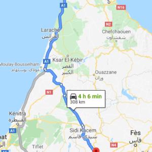 Traslado Puerto Tánger Med a Meknés