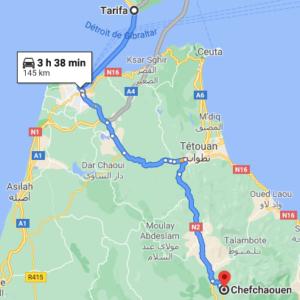 Ferry + Traslado a Chefchaouen desde Tarifa