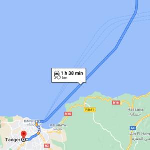 Ferry + Traslado a Tánger desde Tarifa